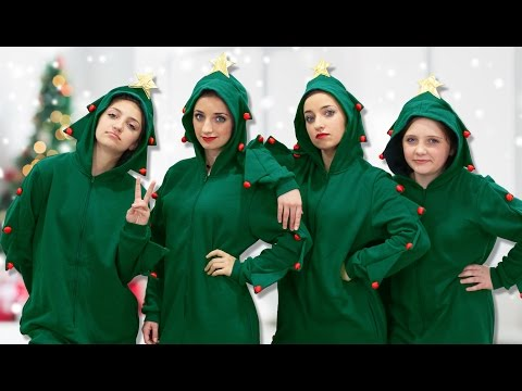Why are We Dressed Up Like Christmas Trees? | 12 Days of Vlogmas | Brooklyn and Bailey