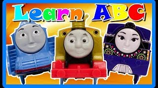 LEARN ABC Letters of THOMAS AND FRIENDS Learning Compilation Video|BEST Educational Video for Kids