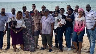 Oga Bello  Gbe body e Adebayo Salamis family reunion  Who is the best dancer in the family