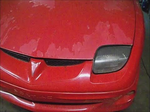 Pontiac Sunfire 01 w 22l radiator replace - YouTube