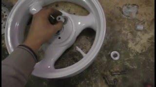 задние дисковые тормоза на скутер(, 2016-01-03T05:33:32.000Z)