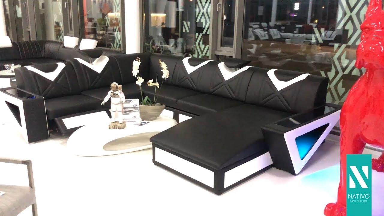 nativo mobili italia divano di design falco xxl con
