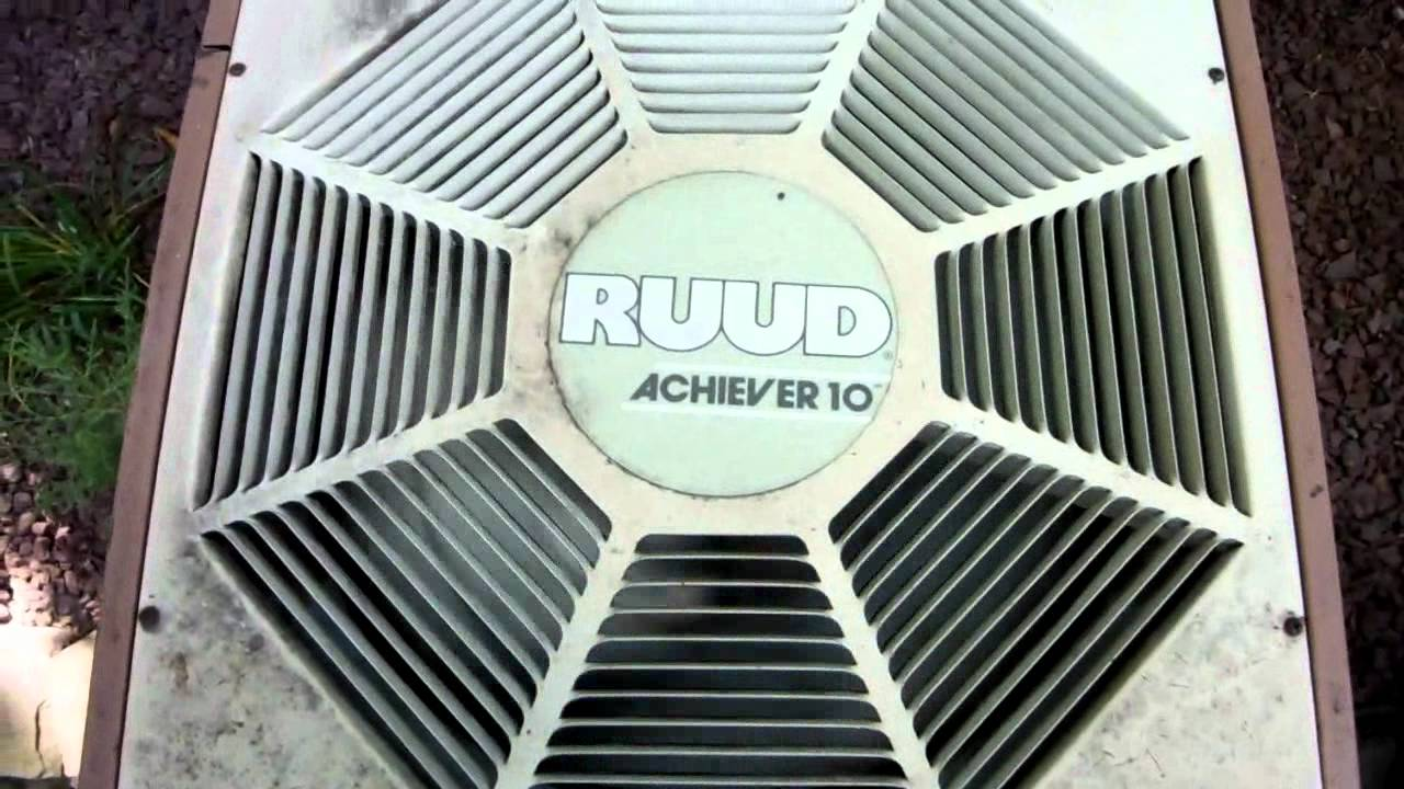 1987 Ruud Achiever 10 Straight Cool Central Air