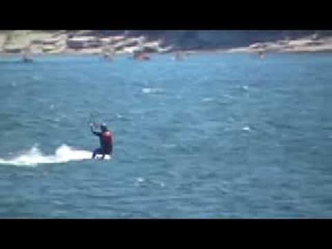 kite surf à Havre St-Pierre, Qc