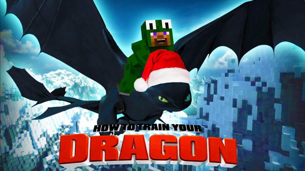 Minecraft how to train your dragon christmas time 36 youtube ccuart Gallery