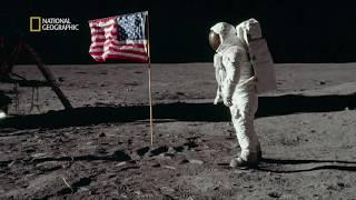 Flaga została umieszczona w lądowniku w ostatniej chwili! [Apollo: na podbój kosmosu]
