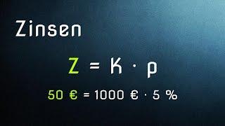 Mathe G17: Zinsrechnung (Teil 1) – Einführung Kapital, Zinsen, Zinssatz