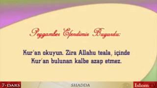 7 Dars Men Ham Qur On O Qiyman Shadda