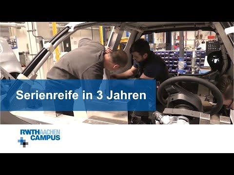 Das Elektro-Stadtfahrzeug e.GO Life - eine Entwicklung auf dem RWTH Aachen Campus