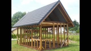 Domek drewniany 24m2