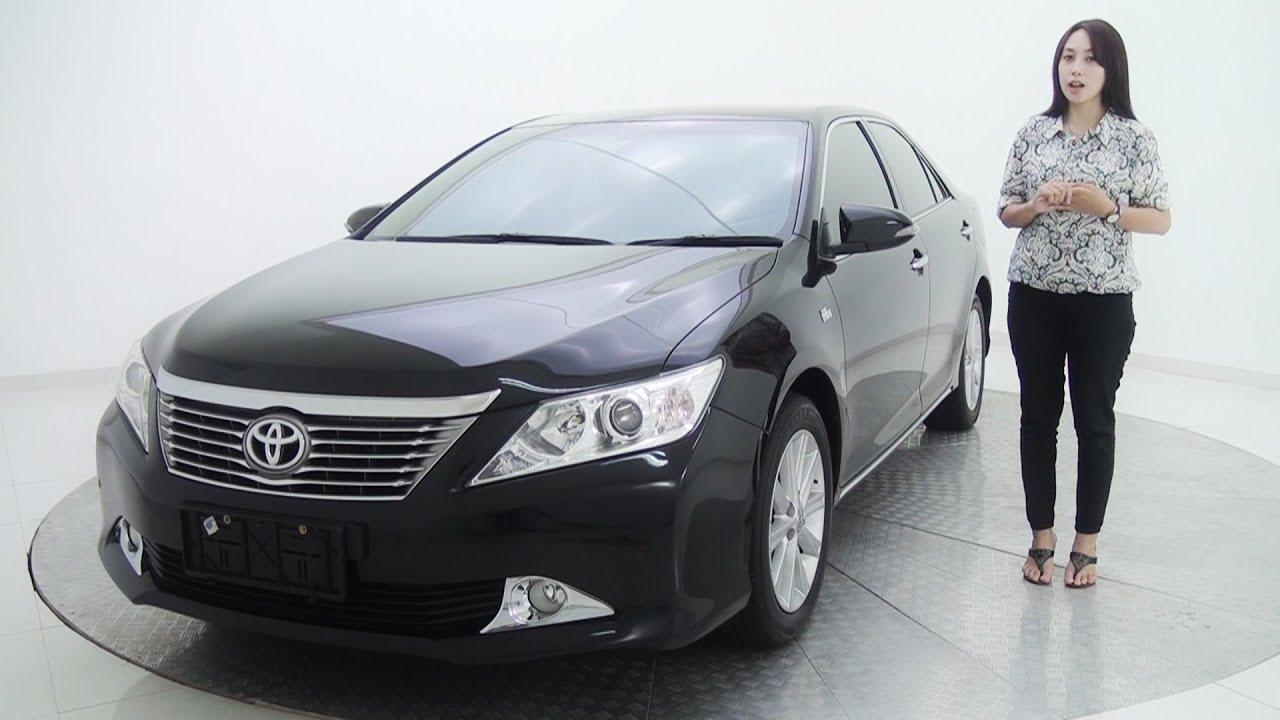 Jual Velg All New Camry Harga Fog Lamp Grand Avanza Mobil Toyota 2 4 V At Hitam Metalik Sold Youtube