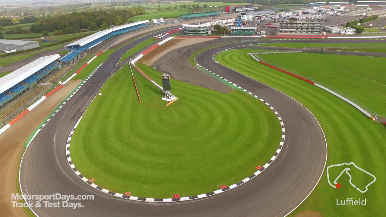 MotorsportDays.com Silverstone Circuit Drone - Luffield - Track Walk ...