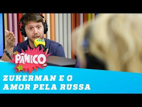 Zukerman e sua bela história de amor com a russa!