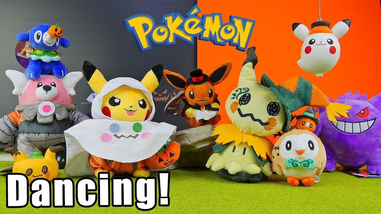 halloween costume plush trick or treat pokemon toys youtube