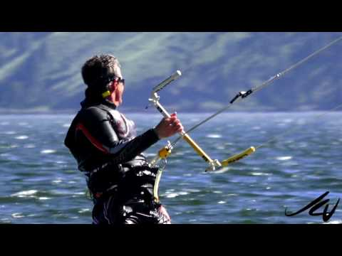 Weather is Great for Kiteboarding Foil Kites -  Penticton BC May 23,   2017 - YouTube