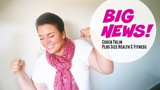 First Plus Size Fit Model Coach Tulin - walks the runway in Katie K Active at OR