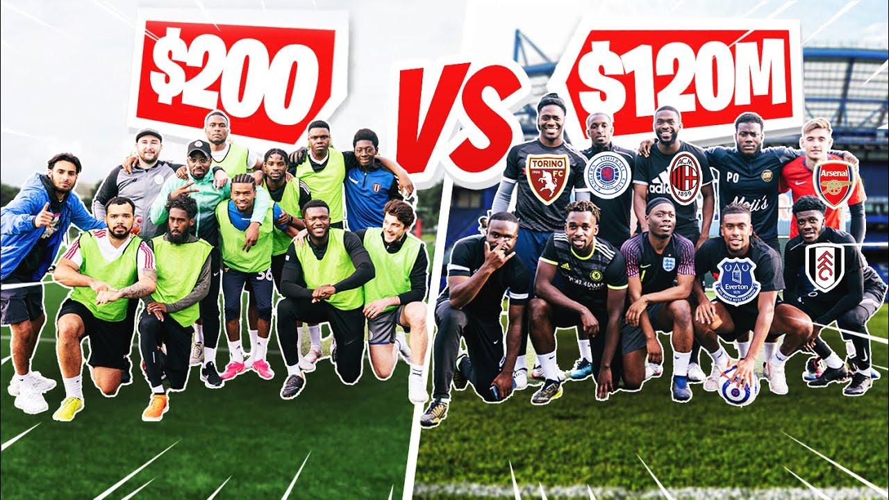 $200 TEAM VS $120,000,000 TEAM!   PRO'S VS SUNDAY LEAGUE   vs Project 17