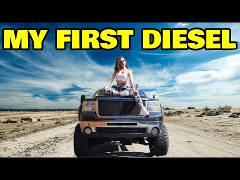 I bought a MASSIVE diesel truck from a complete stranger on the internet