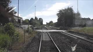 Jens im Einsatz heute, Strecke Zeitz nach Bad Dürrenberg ( Mitfahrt Burgenland Bahn gefilmt ) Teil 1