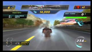 NASCAR Unleashed Wii Gameplay Part 2