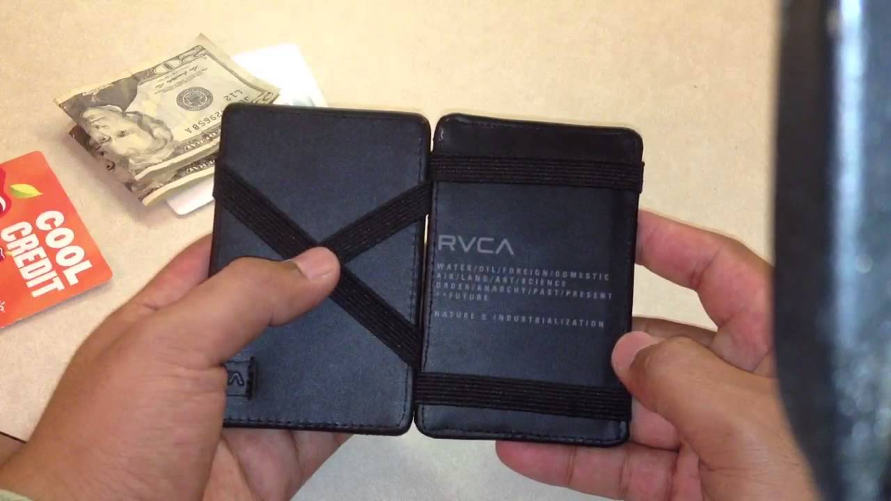 Rvca Magic Wallet Review Youtube