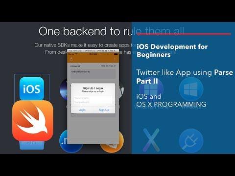 iOS and Swift Beginner Tutorial: App like Twitter using Parse Part 2