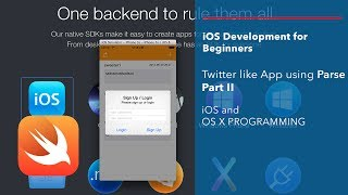 iOS and Swift Beginner Tutorial: App like Twitter using Parse Part 2