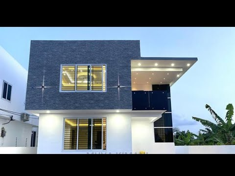 $180k 4bedroom house available for sale in Ghana, Accra || house tour || Building in Ghana.