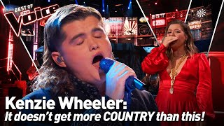 The ULTIMATE COUNTRY VOICE has the Coaches SHOCKED on The Voice