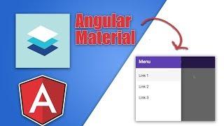 Angular Material Responsive Navigation Tutorial