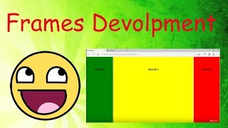 Horizontal and Vertical Frames in HTML!!!