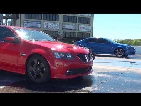 SUPERCHARGED PONTIAC G8 vs. GT500 vs. MUSTANG