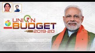 Finance Minister Smt Nirmala Sitharaman presents Union Budget 2019-20