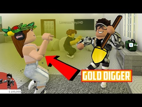 EXPOSING A GOLD DIGGER ON ROBLOX PRANK! - Noob Turns Into a Millionare?!?