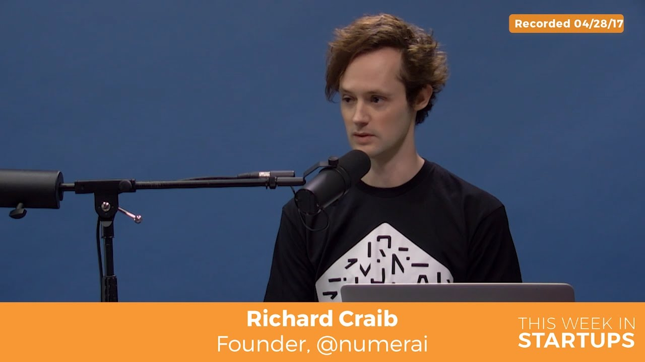 Richard Craib on how Numerai is diff frm traditional hedge funds: data, machine learning &Blockc