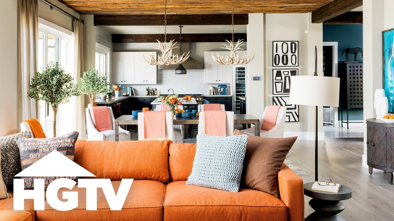 This Mountain Retreat Could Be Yours Tour Hgtv Dream Home 2019