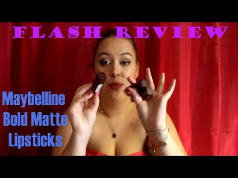 flash-review:-maybelline-bold-matte-lipsticks!