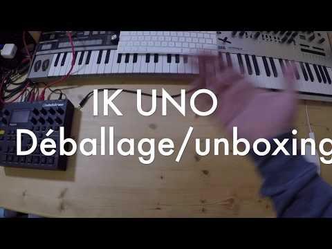 IK Multimédia UNO Synth Déballage/unboxing