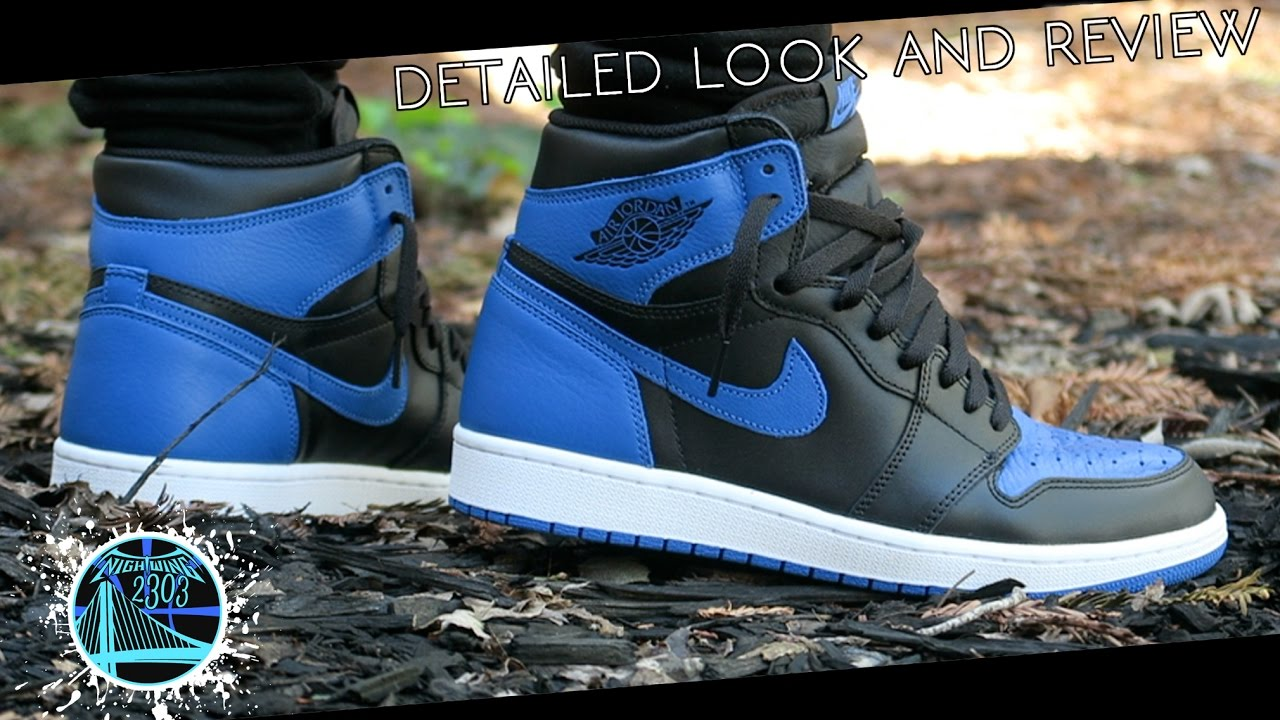 premium selection 55dcd 2f2b4 Air Jordan 1 Retro High OG  Royal  2017   Detailed Look and Review