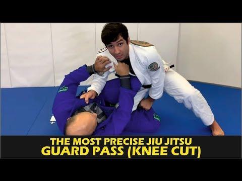 The Most Precise Jiu Jitsu Guard Pass (Knee Cut) by Lucas Lepri