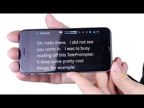 Free Teleprompter Software Apps Reviews Updated 2020