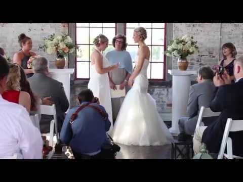 Howell-Peterson Wedding Day Highlights (Cracker Factory-Geneva, NY)