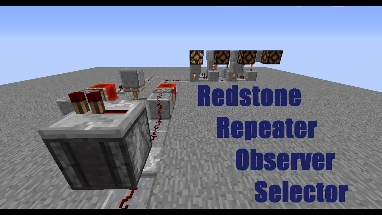 Related To Minecraft How To Create A Repeating Redstone Circuit