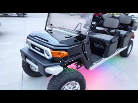 Findlay Customs Toyota Fj Golf Cart At Findlay Toyota
