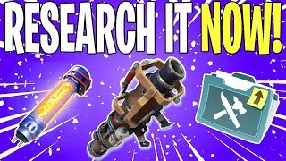 EASIEST WAY TO GET THE TRASH CANNON SCHEMATIC! Bonus 👏 News 👏 | Fortnite Save The World News