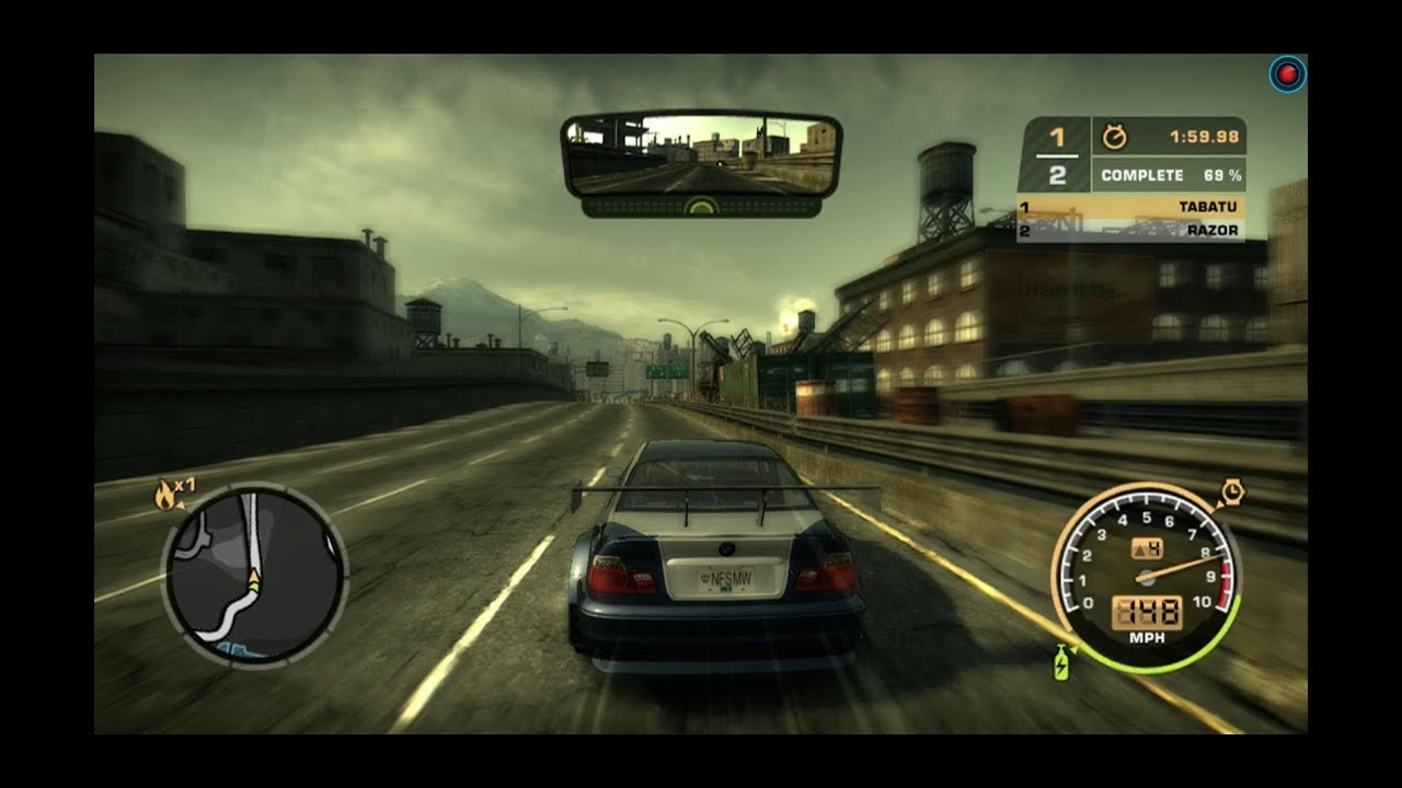 Need For Speed Most Wanted 2005 Full Gameplay