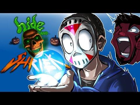 Hide and Shriek - THIS SCHOOL IS HAUNTED! (Halloween Hide & Seek!)