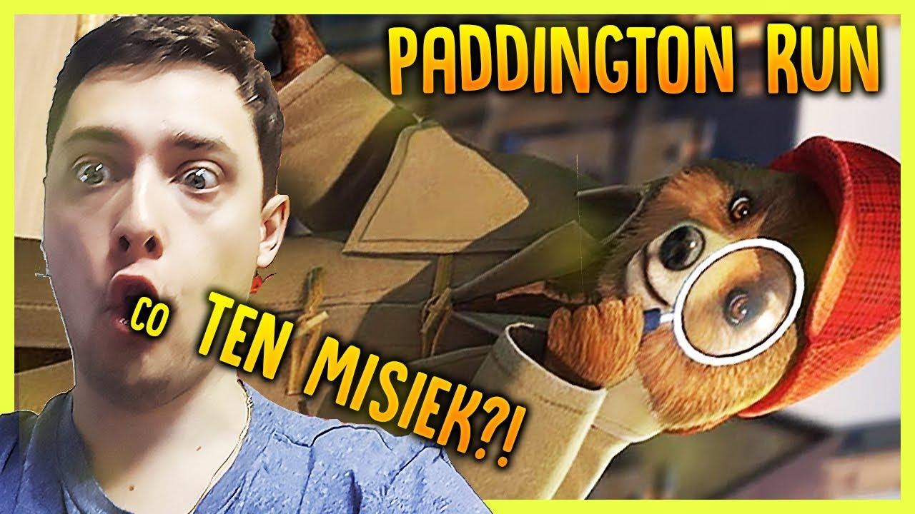 MIŚ TEŻ MOŻE BIEGAĆ – Paddington Run  (DARMOWE GRY DLA DZIECI NA TELEFON)