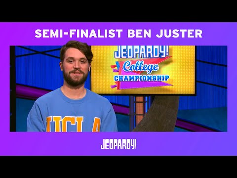 College Championship | Ben Juster | Jeopardy!
