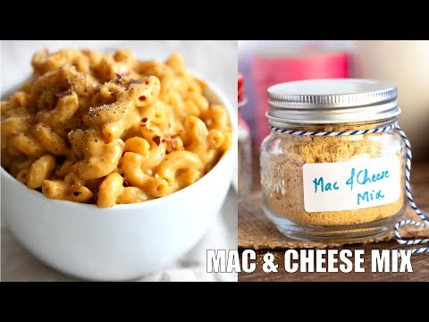 VEGAN MAC AND CHEESE POWDER MIX | Vegan Richa Recipes